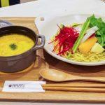野菜ポタージュのヘルシーつけ麺が味わえる♪カフェのようなラーメン専門店